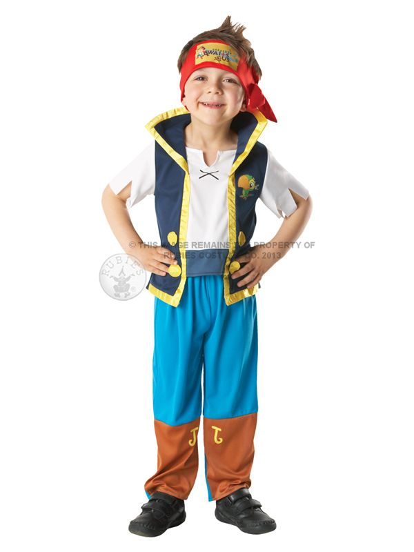 Child Disney Jake And The Never Land Pirates Fancy Dress Costume Kids Boys BN in Clothes Shoes u0026 Accessories | eBay  sc 1 st  Pinterest & Child Disney Jake And The Never Land Pirates Fancy Dress Costume ...