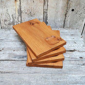 Nice: Oak Trencher Plates