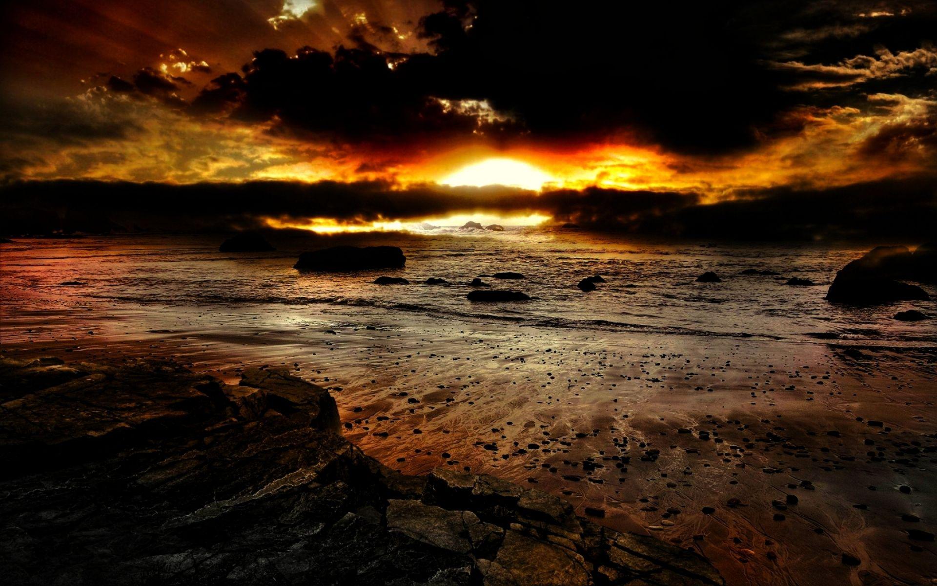 Best Dark Sunset Wallpapers Hd Desktop 10 Hd Wallpapers *Nj*N 640 x 480