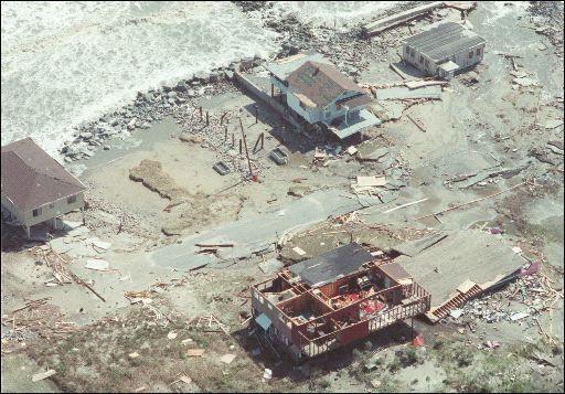 Hurricane Hugo Damaged South Carolina S Beaches 15 Years Ago
