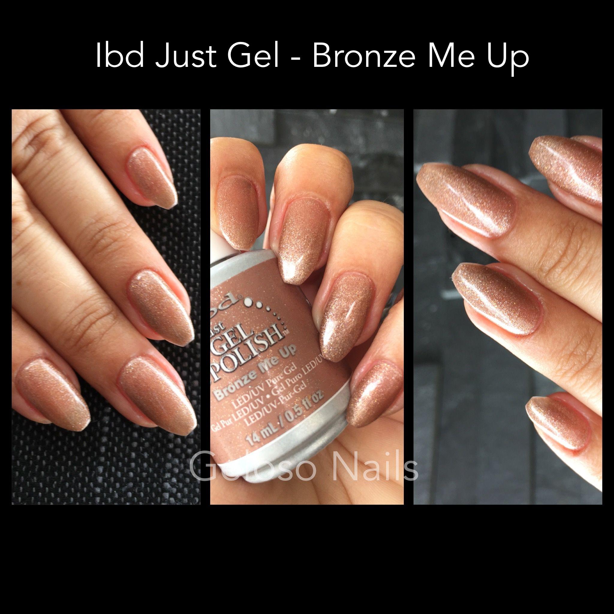 Ibd Just Gel Bronze Me Up | Buy me nail color | Pinterest | Gel ...