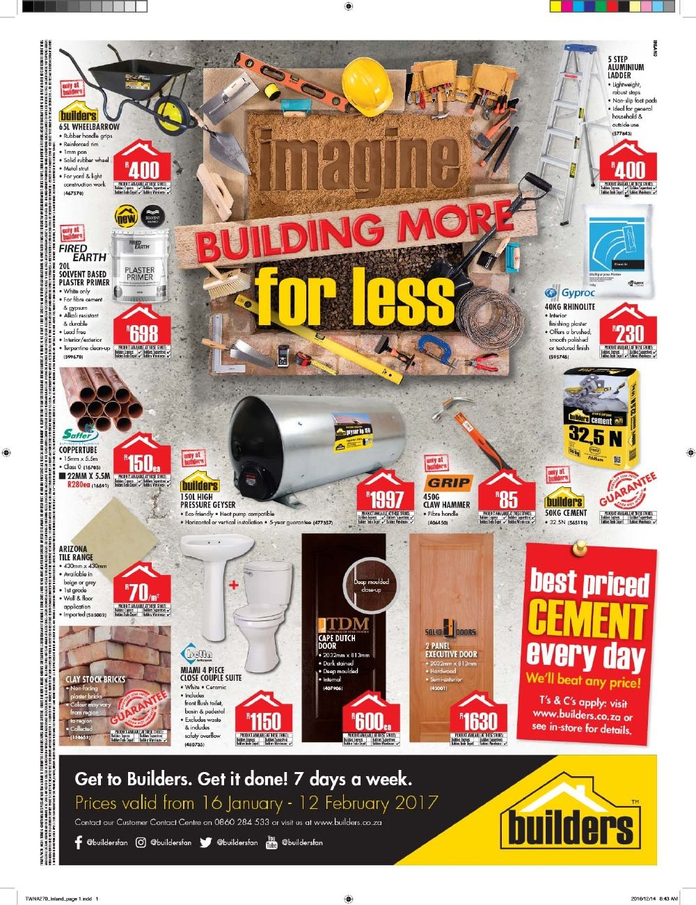 Builders Warehouse Catalogue Specials Http Www Catalogueza Com Builders Warehouse Specials Builders Warehouse Builder Free Tv Channels