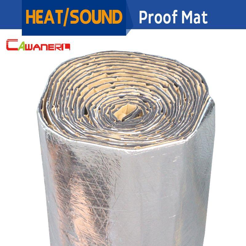 Cawanerl 1 Roll 1000cm X100cm Car Truck Heat Sound Insulation Mat