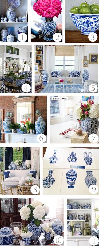Adding Blue And White Accessories Emily A Clark Decor