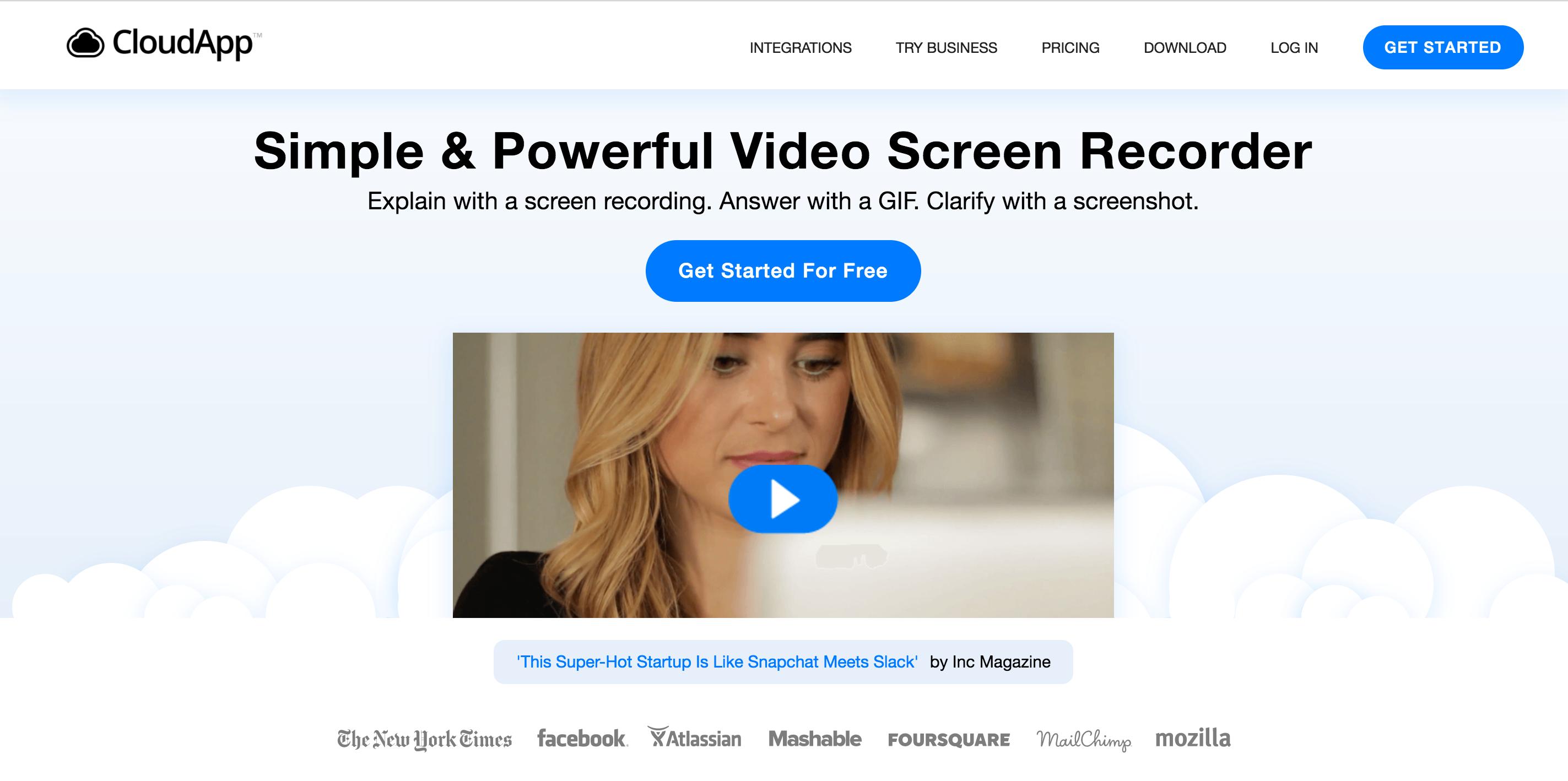 CloudApp Quickly create & share screen recordings, GIFs