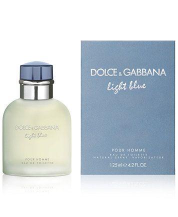 Dolce Gabbana Dolce Gabbana Men S Light Blue Pour Homme Eau De Toilette Spray 4 2 Oz Reviews Shop All Brands Beauty Macy S In 2021 Fragrance Men Perfume Fragrances Perfume