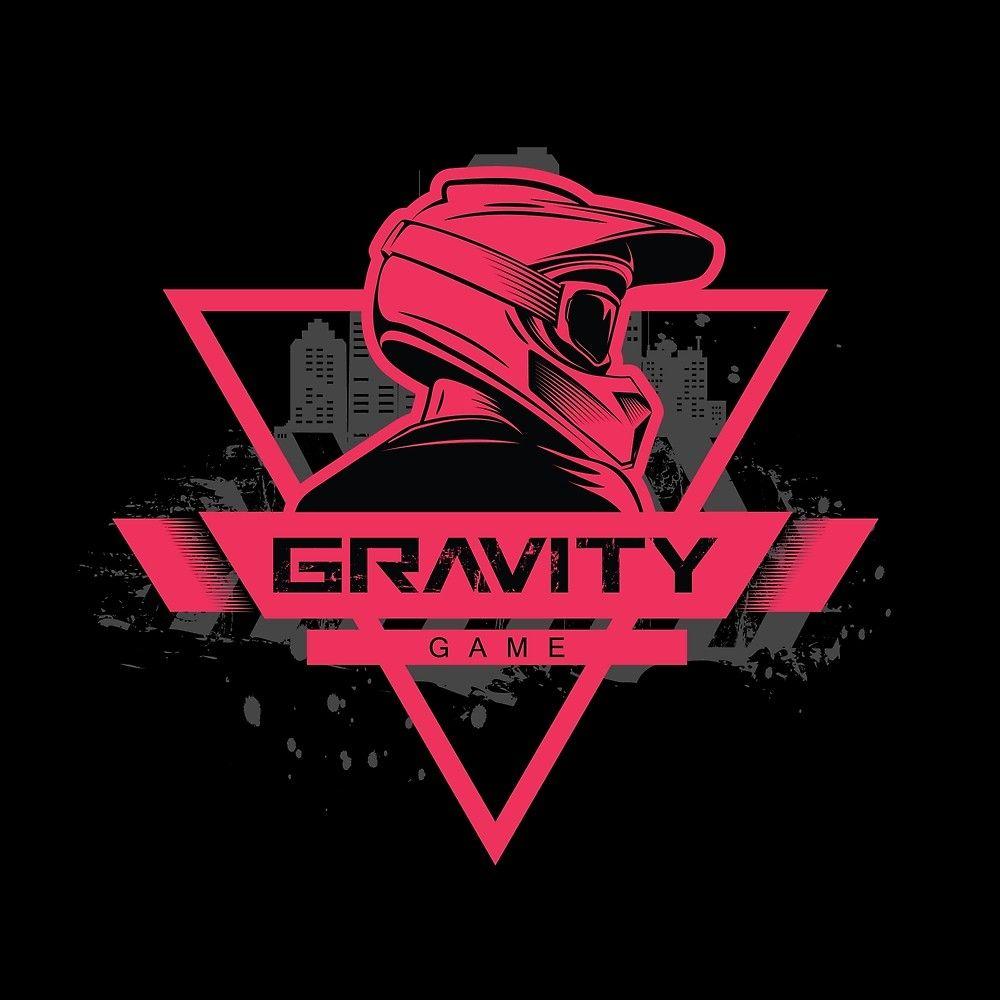 Gravity Game Downhill Mountain Biking Design Biker Logo Design Bike Logos Design Motorcycles Logo Design