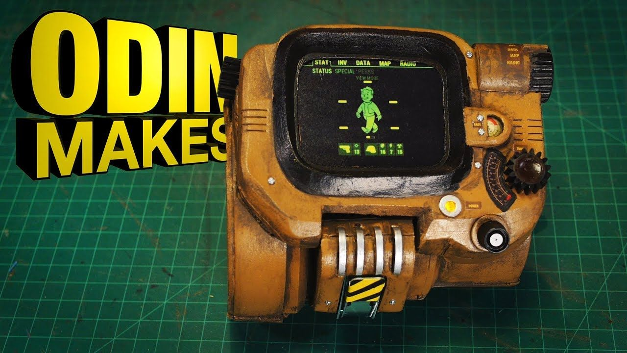 Odin Makes PipBoy 3000 from Fallout 4 in 2020 Pip boy