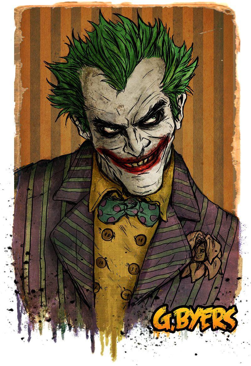 pin the joker art - photo #17