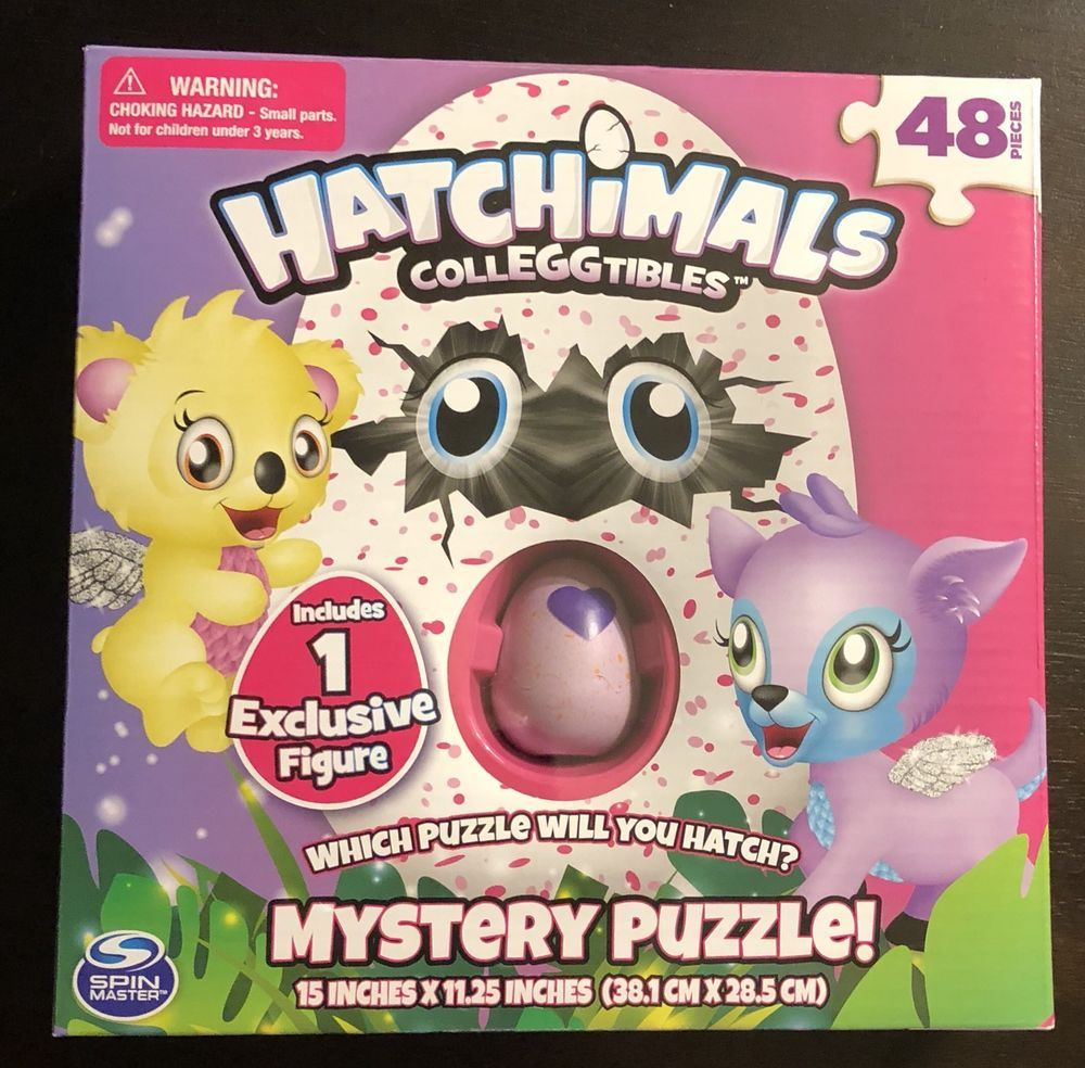 HATCHIMALS Colleggtibles Mystery Puzzle [48 Pieces