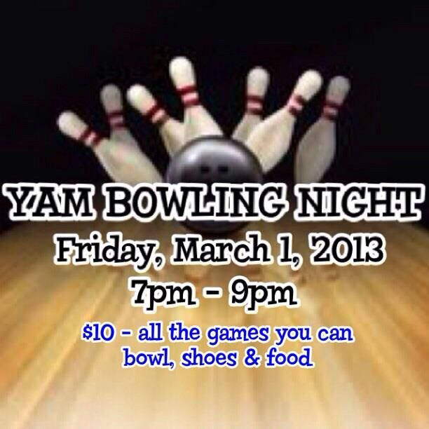 YAM Bowling Night Flyer Flyers\/Invites by Hannah O Pinterest - bowling flyer template