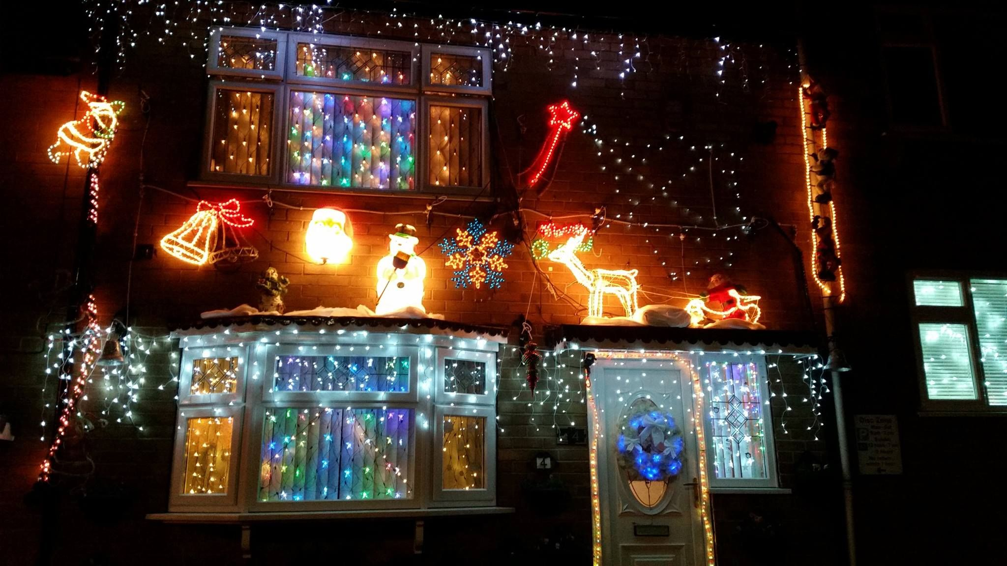 Castle Ward Residents Association Christmas Light Competition. #YCH  #YCHnews #YorkshireCoastHomes