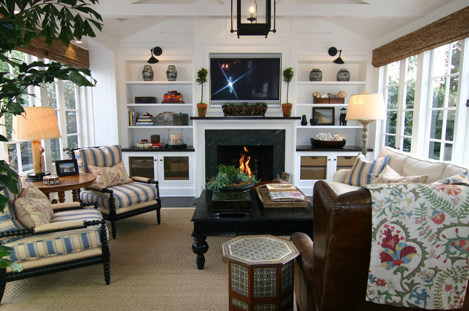 Comfy Family Room Chairs Part - 32: Crazy About This Comfy Family Room.