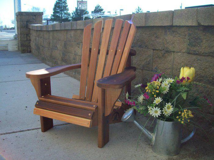Lounge sessel garten holz for Garten und balkonmobel
