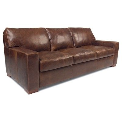 American Leather Collection Danford Sofa   Flagstaff Java
