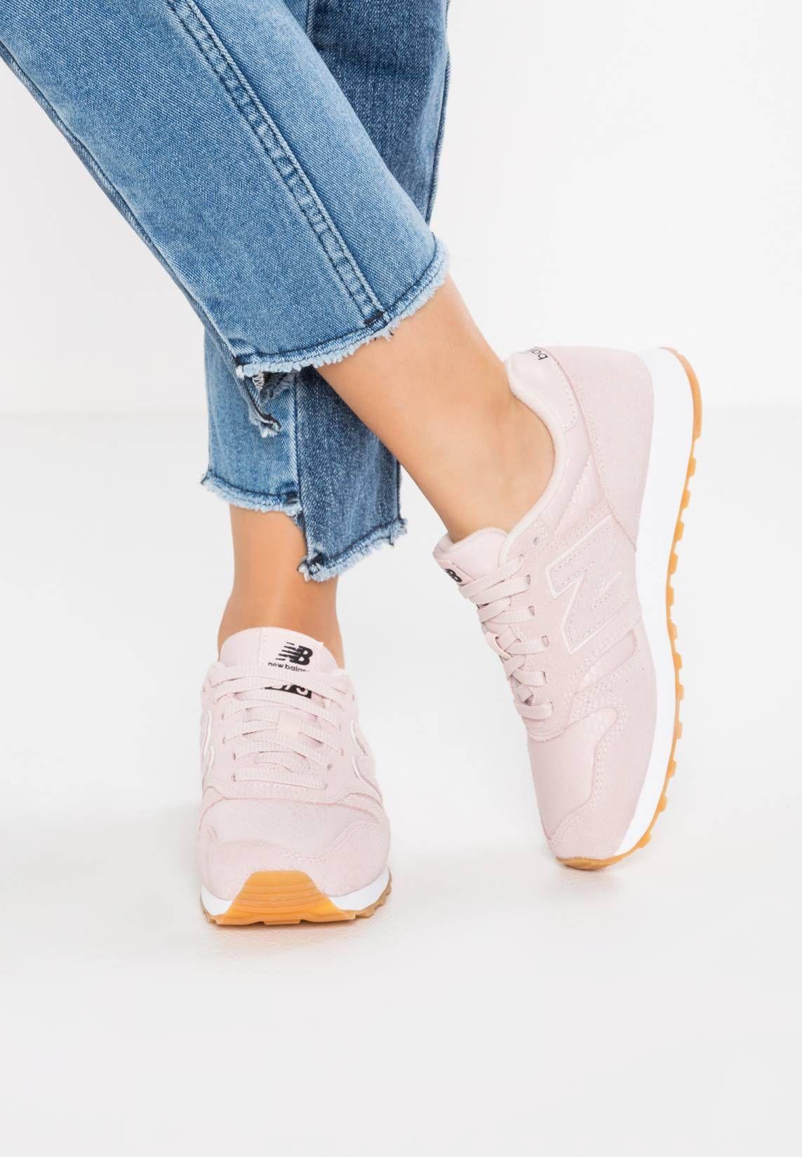 f6f52f92321a WL373 - Sneaker low - pink. Sohle Kunststoff. Decksohle Textil.  Innenmaterial Textil. Obermaterial Leder und Textil. Verschluss Schnürung.