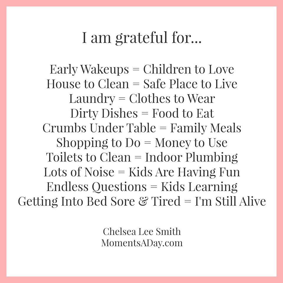 I am so very grateful!