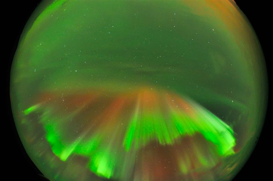 Another view of the auroras.