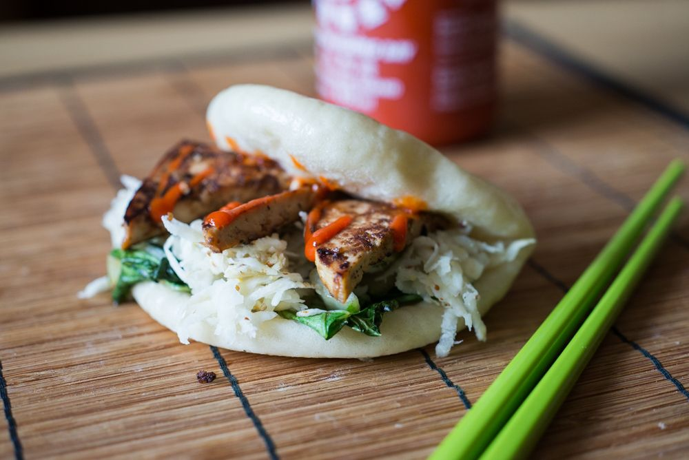 Vegan Steamed Bao Buns The Everyday Vegetarian Vegan Recipes