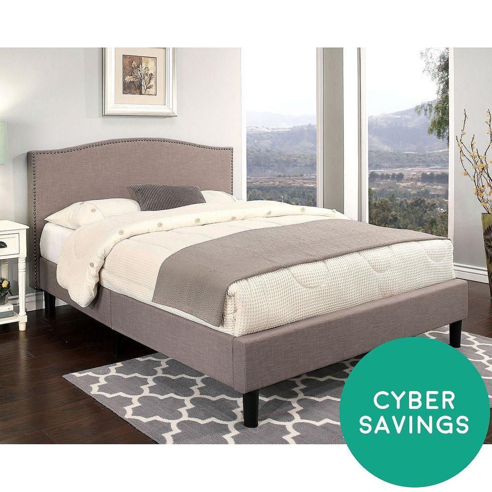 Best Parker Queen Platform Bed Brand New Abbysonliving 400 x 300