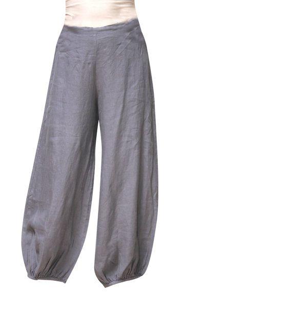 More linen pants
