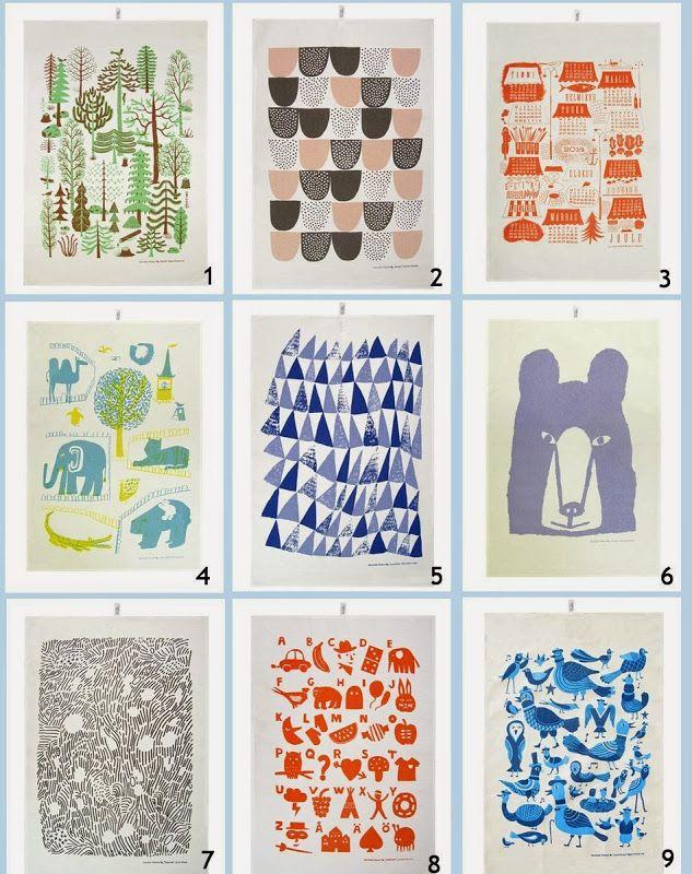 Little Helsinki: Giveaway: Kauniste tea towels