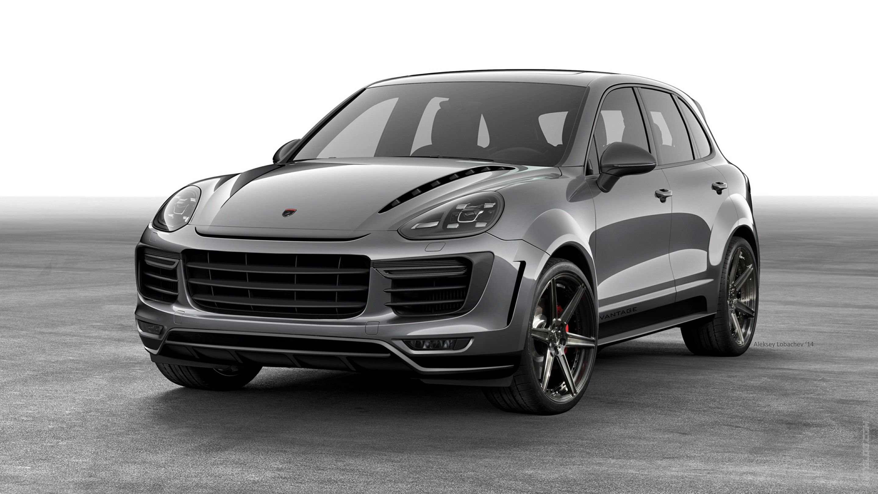Tuningcars: 2015 Porsche Cayenne Receives Aero Kit From TOPCAR.