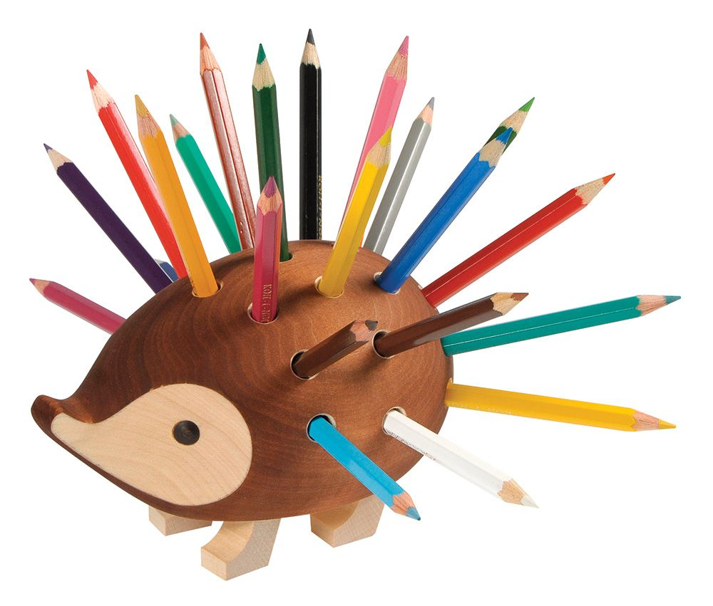 These Cute Hedgehog Pencil Holders Would Make Lovely Gifts! They Are  Irresistible! This Hedgehog