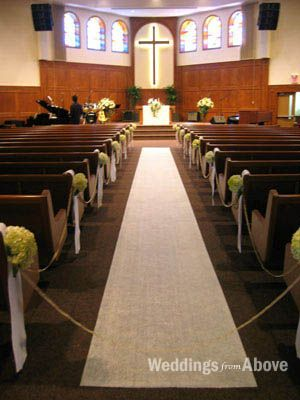 Simple Church Wedding Decorations Ceremony Decoration In Toronto And Gta