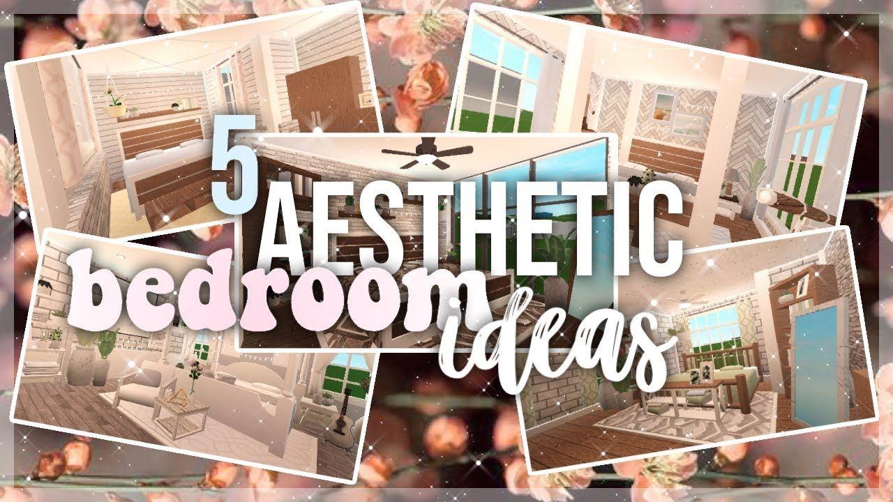 Bloxburg 5 Aesthetic Bedroom Ideas In 2020 Aesthetic Bedroom Cute Bedroom Ideas Two Story House Design