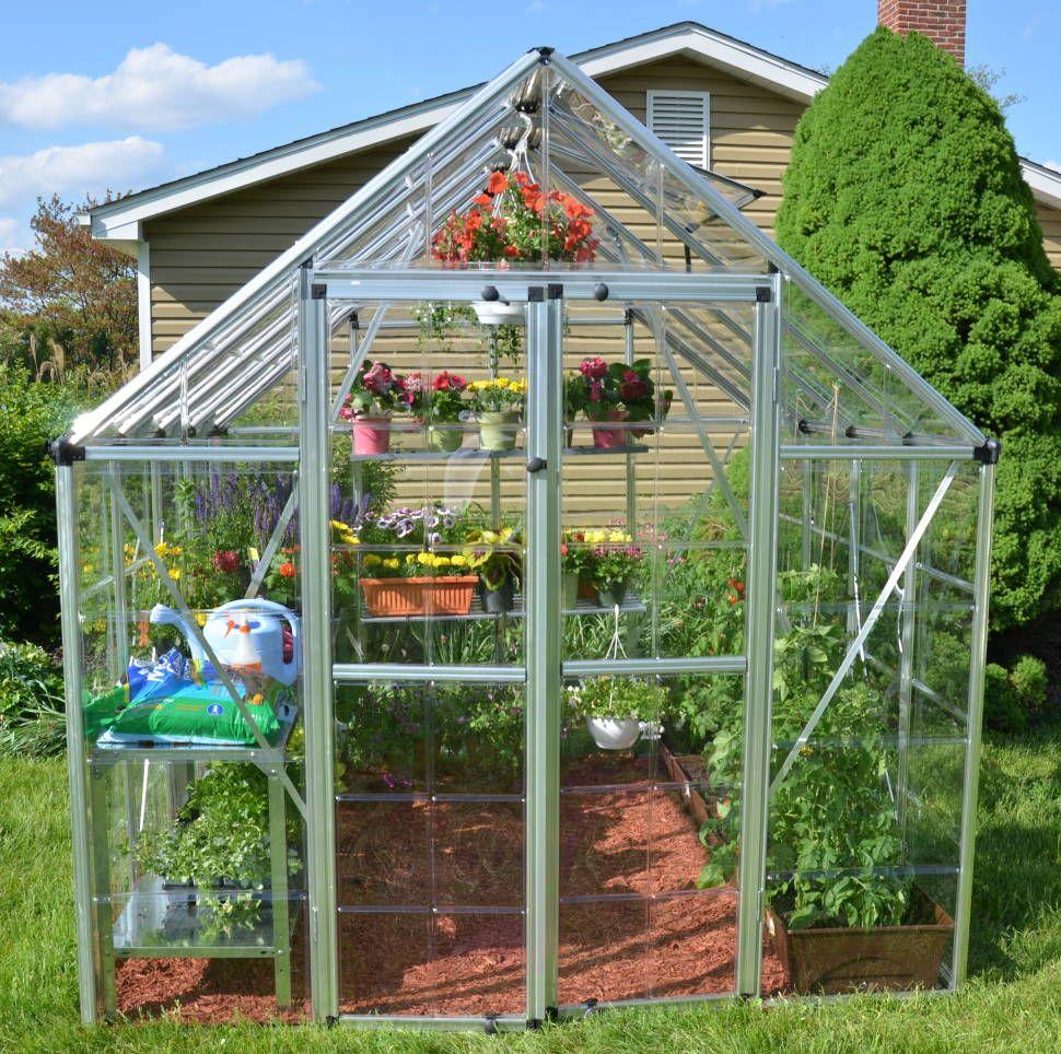 Snap & Grow 8 Ft  W x 16 Ft  D Greenhouse | House | Backyard