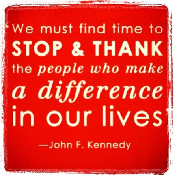 Quotes About Thank You For Support: ... Thank You To All Of You Your