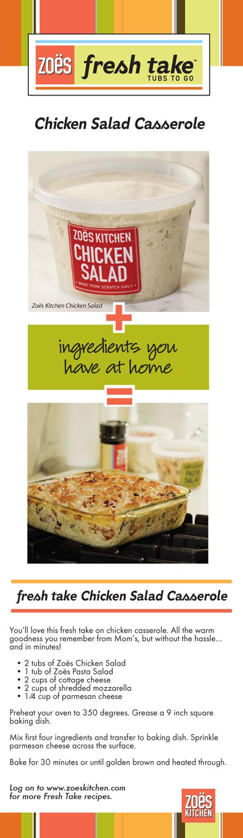 Chicken Salad Recipe Zoes Kitchen