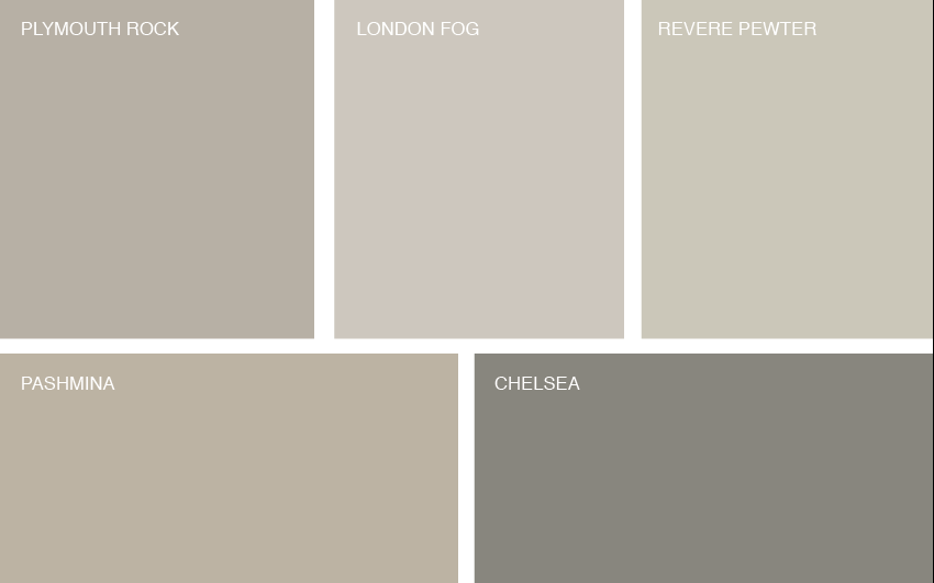 Gottesman Residential Real Estate's favorite 5 gray paint colors