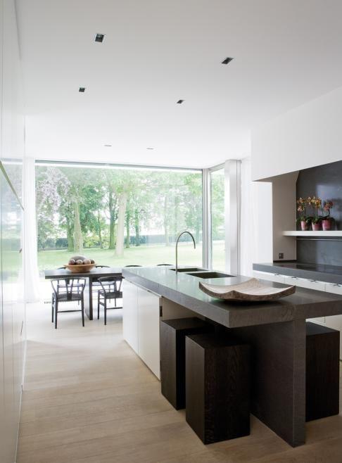 Kleine keuken appartement interieur ideeen pinterest - Kleine keuken met bar ...