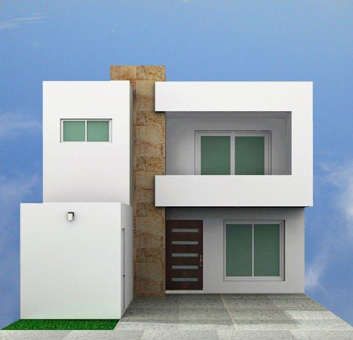 Fotos e im genes de fachadas de casas contempor neas y for Casas campestres contemporaneas