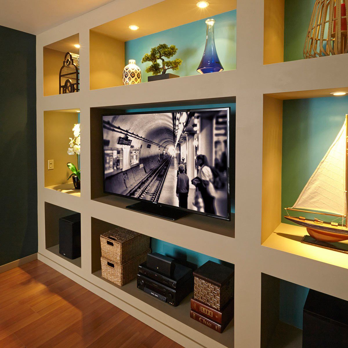 Measuring For A Tv Accent Wall: 15 Stunning Accent Wall Ideas You Can Do
