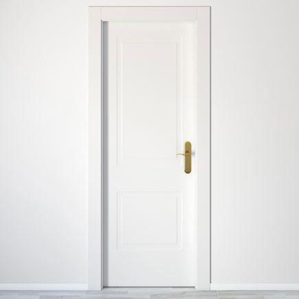 Puerta de interior maciza bayona blanca leroy merlin - Puertas de paso leroy merlin ...