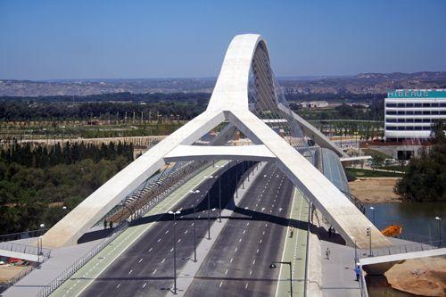 Puente del Tercer Milenio, Zaragoza, Spain, Juan José Arenas de Pablo