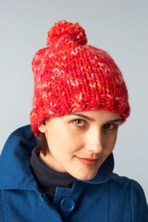 Lion Brand Patterns Free Knitting Pattern 70126a Rectangle Hat