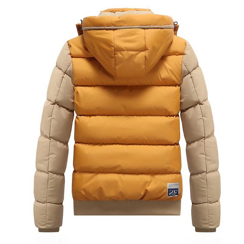 463c2f83321 Click visit to buy. Find this Pin and more on Jackets and Coats by  o mens clothing. MarKyi Winter Jackets Parkas Coats Hooded Winter Jacket Men  ...