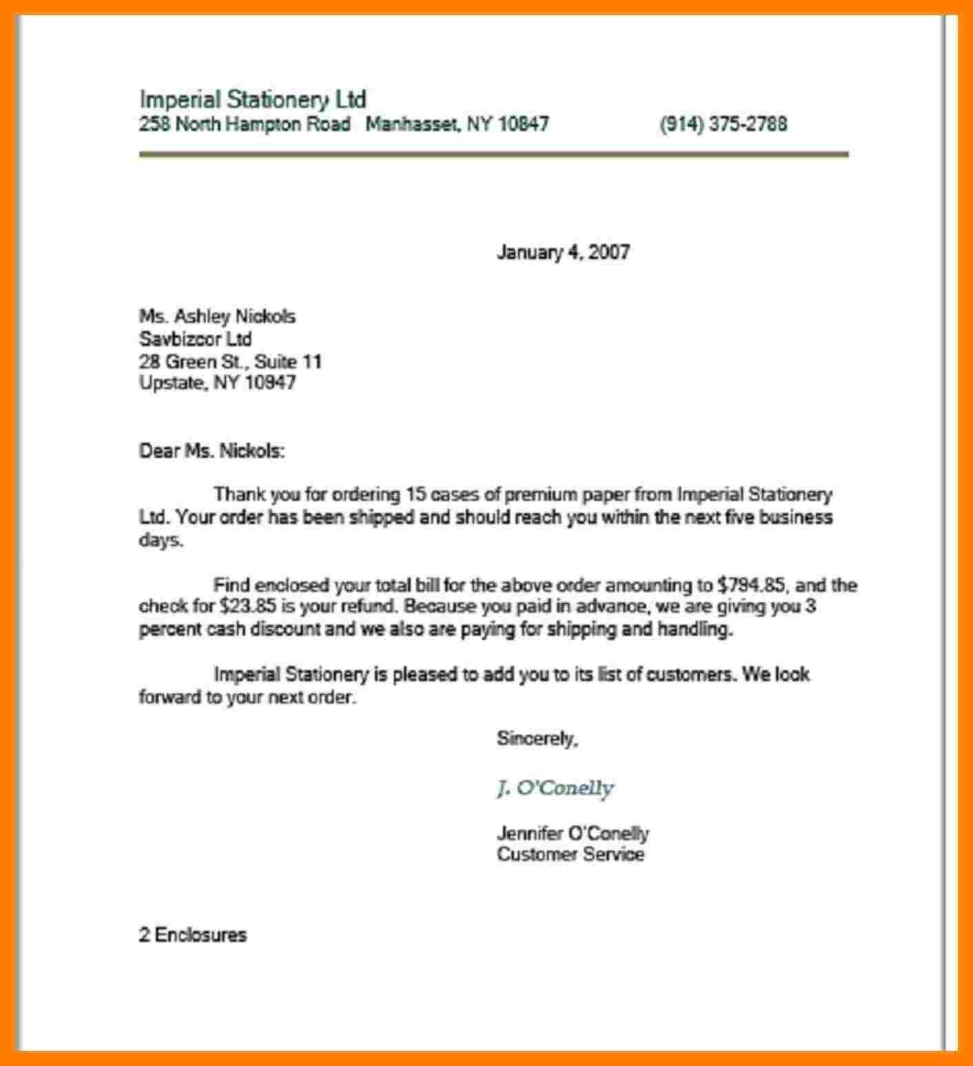 10+ Full Block Letter in 2020 Business letter format