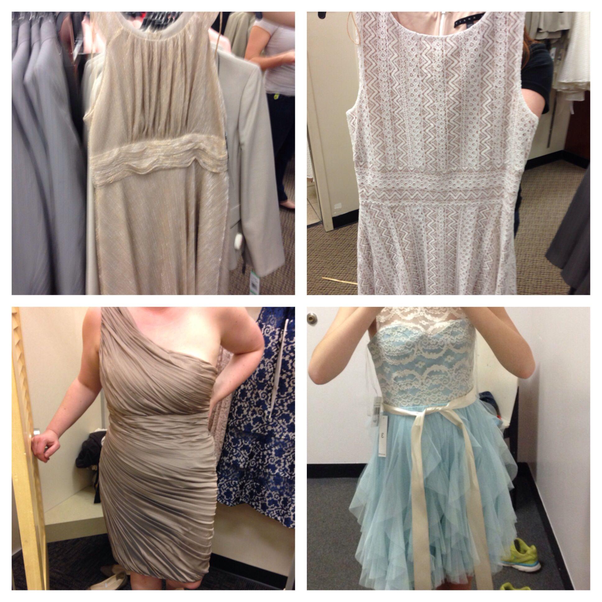 Color scheme and dresses so far