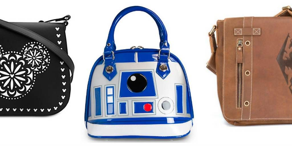 Wear your fandom on your arm with these 12 fabulously nerdy handbags