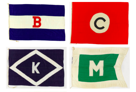 Shipping Line Flags Kids Rugs Flag Graphic
