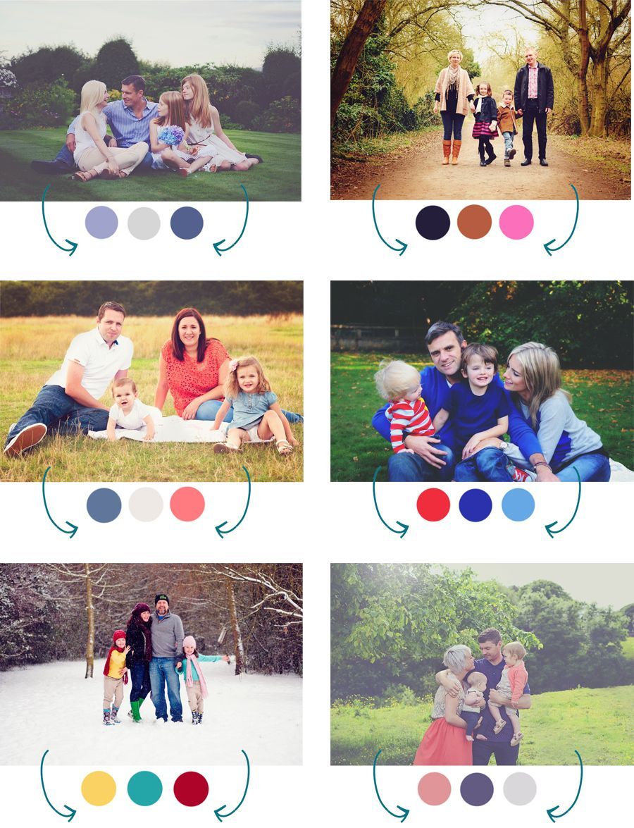 Color Schemes Family Picture Color Ideas