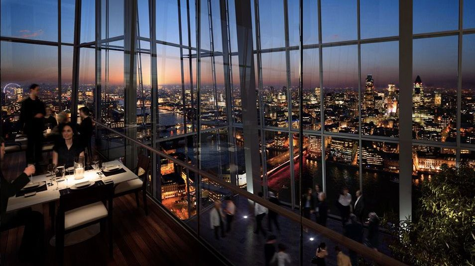 The Shard S First Restaurant Oblix Has Finally Opened
