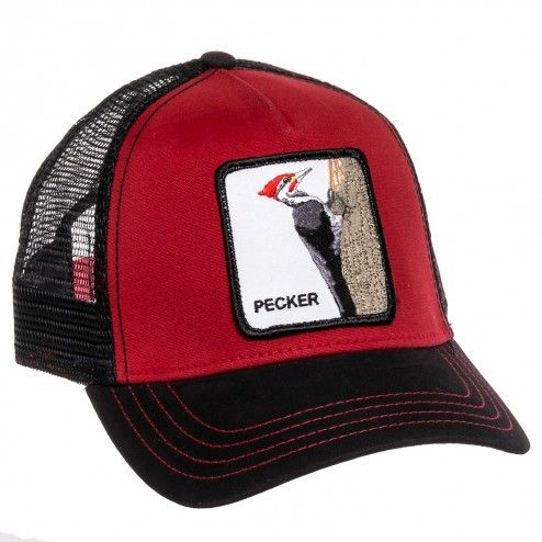 9201a6085b277 Goorin Bros Red Woody Pecker Animal Trucker Baseball Cap