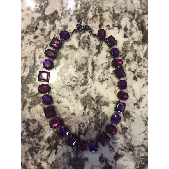 Purple Crystal Necklace Definition of fun! Jewelry Necklaces