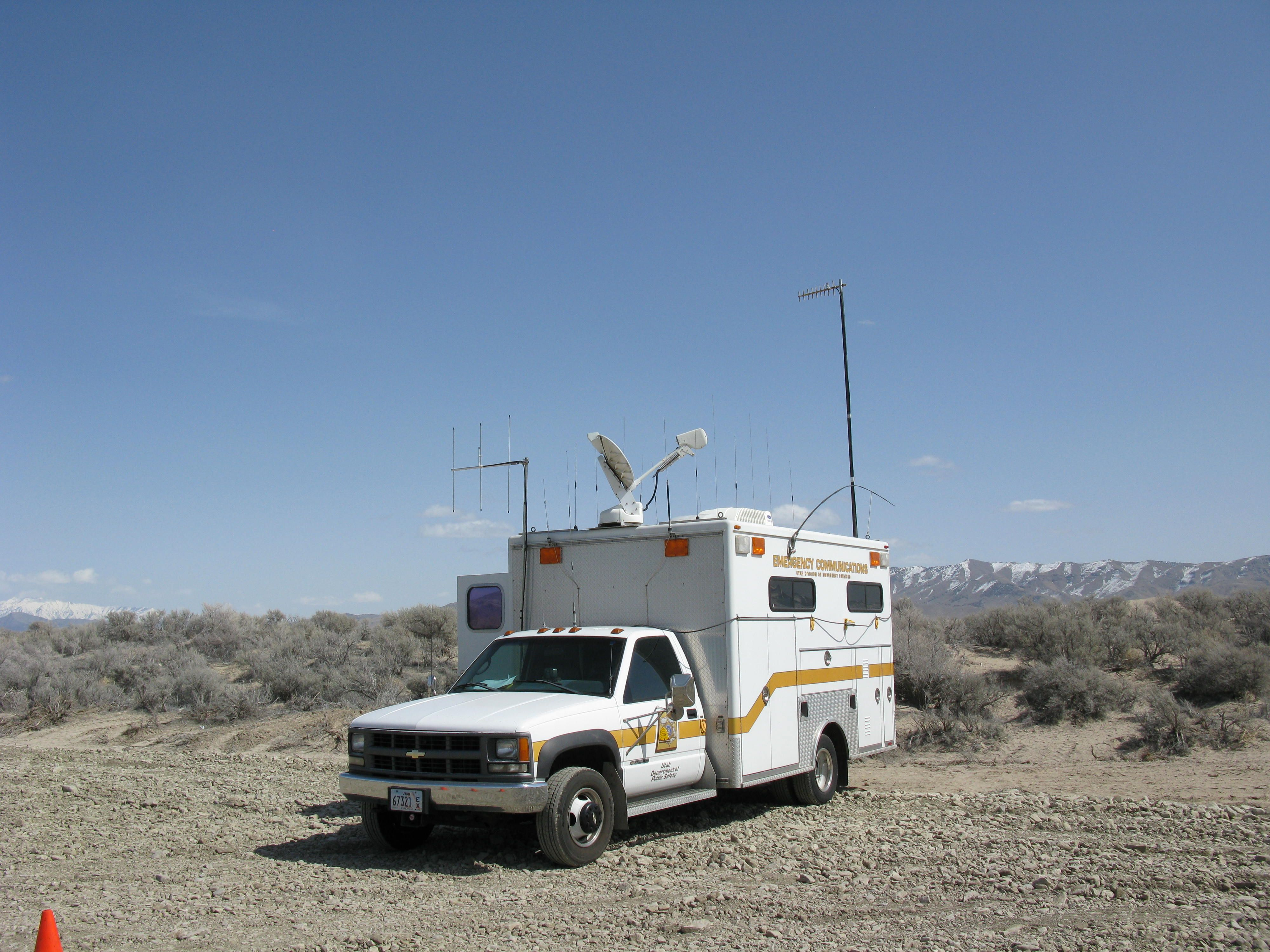 Utah Department of Public Safety Mobile Command Center